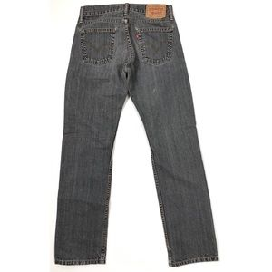 Levi's 514 Slim Straight Faded Work Jeans 29x32